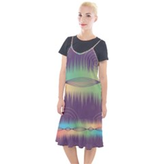 Background Abstract Non Seamless Camis Fishtail Dress