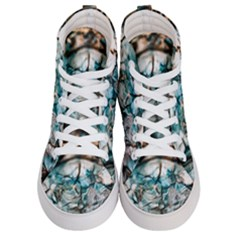 Water Forest Reflections Reflection Women s Hi Top Skate Sneakers