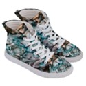 Water Forest Reflections Reflection Women s Hi-Top Skate Sneakers View3