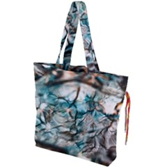 Water Forest Reflections Reflection Drawstring Tote Bag