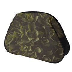 Green Leafy Plant Full Print Accessory Pouch (small)