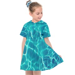 Blue Water Wallpaper Kids  Sailor Dress by Pakrebo