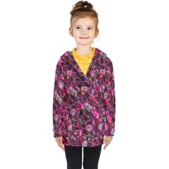 Art Artistic Design Pattern Kids  Double Breasted Button Coat by Pakrebo