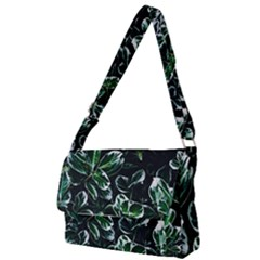 Beautiful Botanical Bright Full Print Messenger Bag by Pakrebo