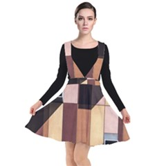 Architectural Design Architecture Building Colors Plunge Pinafore Dress