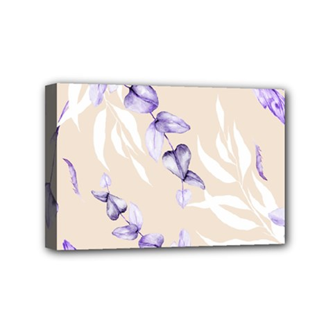 Floral Boho Watercolor Pattern Mini Canvas 6  X 4  (stretched)