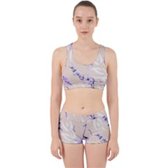 Floral Boho Watercolor Pattern Work It Out Gym Set