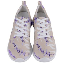 Floral Boho Watercolor Pattern Men s Lightweight Sports Shoes