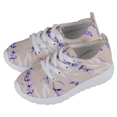 Floral Boho Watercolor Pattern Kids  Lightweight Sports Shoes by tarastyle
