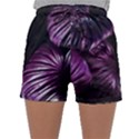 Purple Leaves Sleepwear Shorts View1