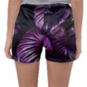 Purple Leaves Sleepwear Shorts View2