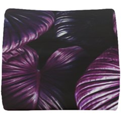 Purple Leaves Seat Cushion