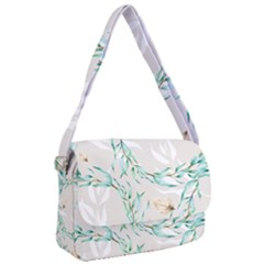 Floral Boho Watercolor Pattern Courier Bag