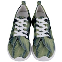 Closeup Photo Of Green Variegated Leaf Plants Men s Lightweight Sports Shoes