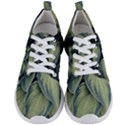 Closeup Photo Of Green Variegated Leaf Plants Men s Lightweight Sports Shoes View1