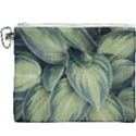 Closeup Photo Of Green Variegated Leaf Plants Canvas Cosmetic Bag (XXXL) View1