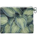 Closeup Photo Of Green Variegated Leaf Plants Canvas Cosmetic Bag (XXXL) View2