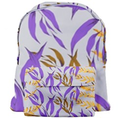 Floral Boho Watercolor Pattern Giant Full Print Backpack