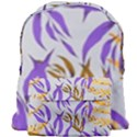 Floral Boho Watercolor Pattern Giant Full Print Backpack View1