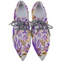 Floral Boho Watercolor Pattern Pointed Oxford Shoes View1