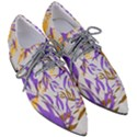 Floral Boho Watercolor Pattern Pointed Oxford Shoes View3