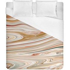 Brown And Yellow Abstract Painting Duvet Cover (california King Size) by Pakrebo