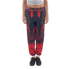 Low Angle Photography Of Red Metal Tower Women s Jogger Sweatpants