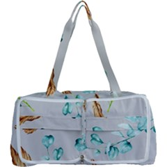 Floral Boho Watercolor Pattern Multi Function Bag by tarastyle