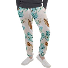 Floral Boho Watercolor Pattern Men s Jogger Sweatpants by tarastyle