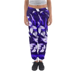 Floral Boho Watercolor Pattern Women s Jogger Sweatpants by tarastyle