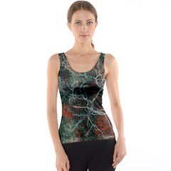 Aerial Photography Of Green Leafed Tree Tank Top