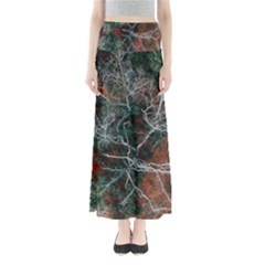 Aerial Photography Of Green Leafed Tree Full Length Maxi Skirt