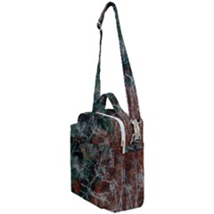 Aerial Photography Of Green Leafed Tree Crossbody Day Bag