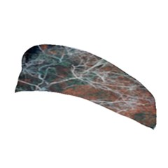 Aerial Photography Of Green Leafed Tree Stretchable Headband
