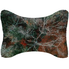 Aerial Photography Of Green Leafed Tree Seat Head Rest Cushion