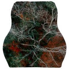 Aerial Photography Of Green Leafed Tree Car Seat Velour Cushion