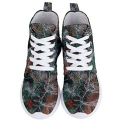 Aerial Photography Of Green Leafed Tree Women s Lightweight High Top Sneakers