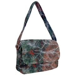 Aerial Photography Of Green Leafed Tree Courier Bag