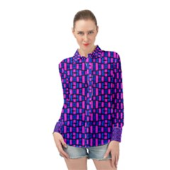 Ml C5 5 Long Sleeve Chiffon Shirt by ArtworkByPatrick