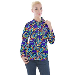Ml C6 1 Women s Long Sleeve Pocket Shirt by ArtworkByPatrick