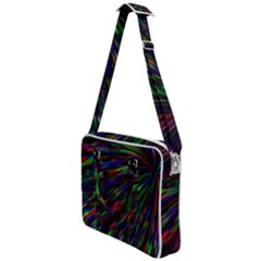 Explosion Fireworks Rainbow Cross Body Office Bag by Bajindul