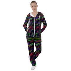 Explosion Fireworks Rainbow Women s Tracksuit