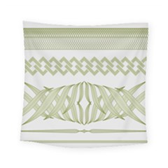 Guilloche Border Square Tapestry (small) by Bajindul
