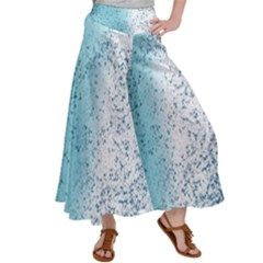Spetters Stains Paint Satin Palazzo Pants by HermanTelo