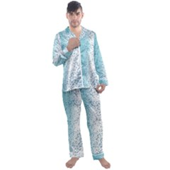 Spetters Stains Paint Men s Satin Pajamas Long Pants Set