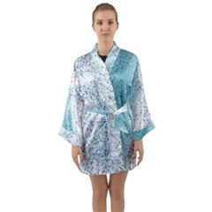 Spetters Stains Paint Long Sleeve Kimono Robe by HermanTelo