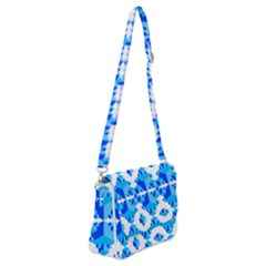 Cubes Abstract Wallpapers Shoulder Bag With Back Zipper by HermanTelo