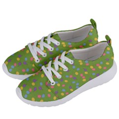 Balloon Grass Party Green Purple Women s Lightweight Sports Shoes by HermanTelo