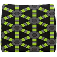 Backgrounds Green Grey Lines Seat Cushion