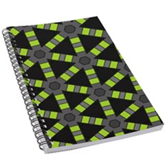 Backgrounds Green Grey Lines 5 5  X 8 5  Notebook